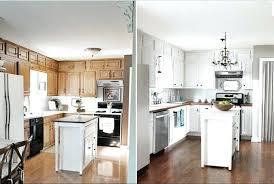 painting kitchen cabinets white before and after fanciful contemporary antique refinishing old