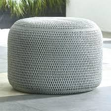 Gold Floor Pouf