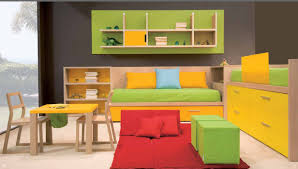 kids rooms impressive colorfull furniture accent in kids bedroom ideas decor with green floating storage childrens bedroom furniture small spaces
