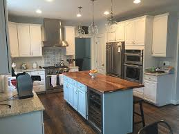 looking to integrate a solid wood kitchen island top in baltimore