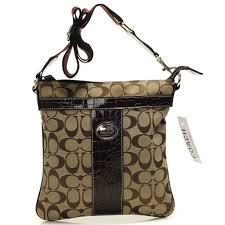 COACHPURSE Coach Legacy Swingpack In Signature Medium Camel Crossbody Bags  BEH