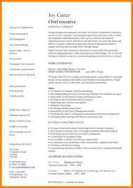 common app resume format.pic_chief_executive_cv_template.jpg