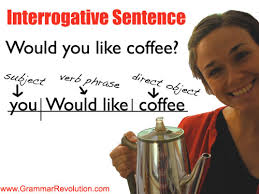 interrogative sentences  learn the grammar of questions
