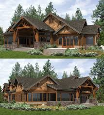 mountain house plans. Perfect Plans Covered Outdoor Living Room In Back Of Architectural Designs Mountain House  Plan 23610JD Ready When You Are Inside Plans S