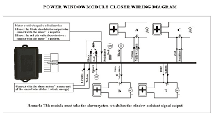 car security power window closer cf e04w for 4 windows roll up universal power window wiring diagram at Car Power Window Diagram