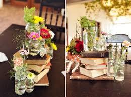 vine book centerpieces thegoodstuff