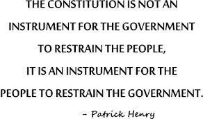 Resultat d'imatges de patrick henry constitution