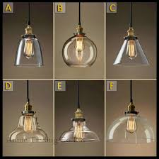 glass hanging lamp shades ac100 240v modern shade pendant lights loft ikea art 8