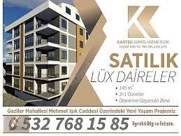 For Sale Flat Kartek İnŞaatdan 145 M2 Manzarali LÜx Daİre At