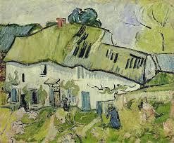 the farm in summer painting vincent van gogh the farm in summer art print