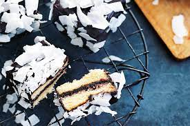 Donna Hay's dark chocolate lamingtons recipe | Australian recipes | SBS Food