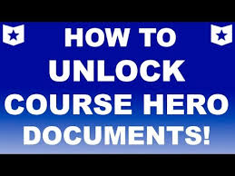 HOW TO UNLOCK Course Hero documents    Get answers for your     YouTube HOW TO UNLOCK Course Hero documents    Get answers for your homework  quiz  and final INSTANTLY