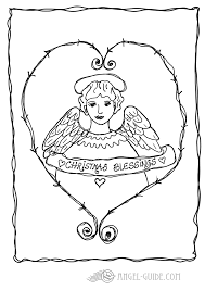 Small Picture Boy Angel Picture To Print And ColorAngelPrintable Coloring