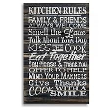 kitchen rules wall art on wall art kitchen rules with buy once upon a time kitchen rules wall art online at best price