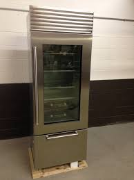 sub zero bi 30ugsph 30 refrigerator freezer glass door stainless build in