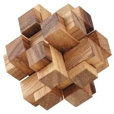 Wooden Game Cubes Beauteous 32D Squares Cube Wooden Puzzle Solve It Think Out Of The Box