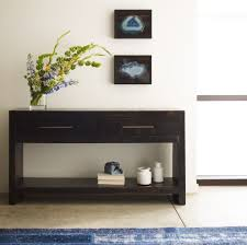 Reclaimed Wood Console Table Entry Rustic with None