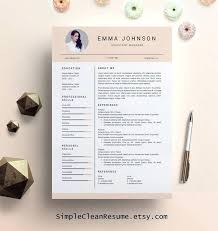 Free Creative Cv Template Download Word Cool Resume Templates