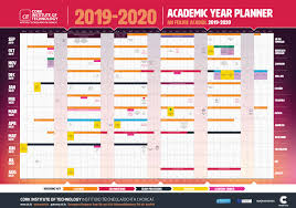 College Planners 2020 Cit Cork Institute Of Technology Semester Dates And Calendar