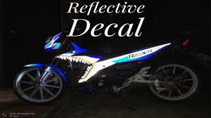 Decals Design For Raider 150 3m Reflective Decal For Suzuki Raider R150 Fi