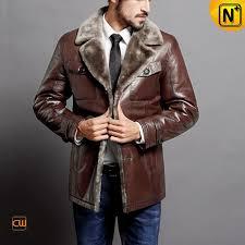 sheepskin shearling coat men cw868221 cwmalls com