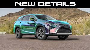 2013 Lexus Rx 350 Color Chart Official 2020 Rx 350 Details Paint Colors Apple Carplay Android Auto Usbs And Much More