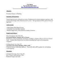 Personal Banker Resume Best Of E Of Re Mended Banking Resume