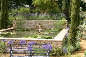 Small Picture Garden designer Claudia De Yong specializes in water garden design
