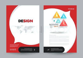 cover annual report leaflet brochure flyer template size design book layout abstract presentation templates business a4