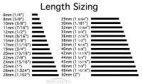Labret Stud Size Chart Lip Stud Length Chart Average Size Septum Piercing
