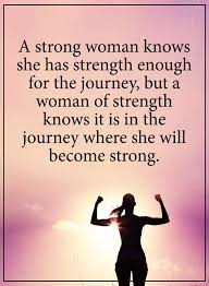 Quotes About Strong Women Gorgeous Strong Women Quotes About Strength Always She Will Become Strong At