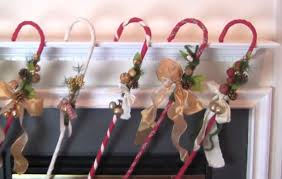 How To Decorate A Cane Gift this Easy to Make Adorable DIY Candy Cane Decoration or Keep 7