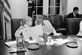 jimmy carter oval office. Amy Carter And Jimmy Participate In A Speed Reading Course At The White House, February 1977 Oval Office H