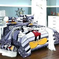 mickey and minnie mouse bedding mickey and mouse bedding s bed set for boys b mickey