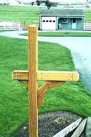 mailbox post plans. Simple Mailbox 6x6 Mailbox Posts Post Plans Wooden Letterbox  Installation Instructions Ideas On Mailbox Post Plans L