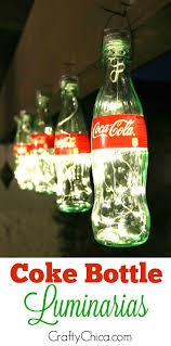 Soda Bottle Decorations Coke Bottle Luminarias more Coke Bottle and Movie rooms 1
