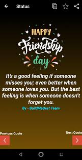 Happy Friendship Day Wishes Status Quotes Message For Android Apk