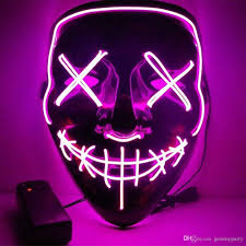 Halloween Led Light Up Purge Mask 2019 Halloween Mask Scary Led Light Up Purge Mask For Party Halloween Costume Rave Festivals And Cosplay From Jeremyparty 8 63 Dhgate Com