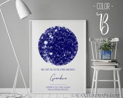 Star Map Print Custom By Date Printable Star Chart Poster Astronomy Gifts Galaxy Art Print Constellation Map Where We Met Night Sky Print