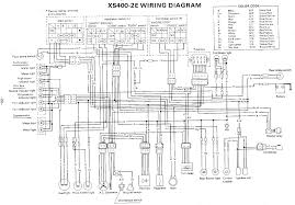yamaha wiring diagrams diagnose motorcycle and moped electrical Yamaha ATV Wiring Diagram 1978 yamaha xs400, xs400 2e wiring diagram