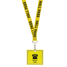 Student Hall Pass Details About 36 Unbreakable Student Hall Passes With Safety Breakaway Lanyards Bathroom Etc