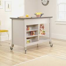 Portable Kitchen island with Stools