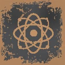 atomdesign atom design on old background vector premium clipart clipartlogo com