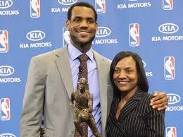 Gloria James, mother of Miami Heat star LeBron James ...