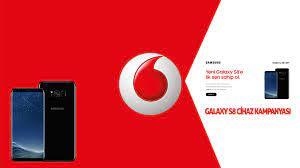 Samsung Galaxy S8 Cihaz Kampanyası - Vodafone