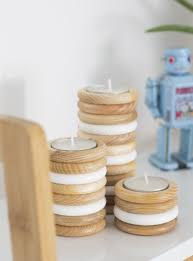 Craft Projects Using The T Light Candles Diy Wooden Tealight Holders The Crafty Gentleman