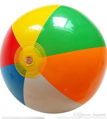 Beach ball in sand Colourful Beach Ball The New Sixcolor Beach Ball Pvc Inflatable Toys Vectorstock 2019 Beach Ball The New Six Color Beach Ball Pvc Inflatable Toys
