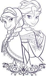 Coloriage A Imprimer Les Princesses D Arendel Gratuit Et Colorier