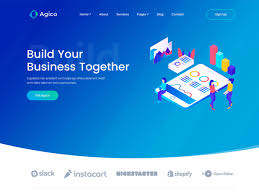 Bootstrap Landing Page Design Agico Landing Page Template Themefisher