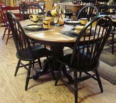 distressed black dining room table. Distressed Black Dining Room Table And Kitchen Rountree